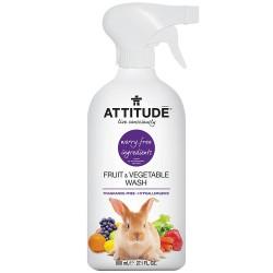 Sprej za sadje in zelenjavo Attitude (brez vonja)
