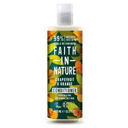 Balzam za mastne lase Faith in Nature (grenivka in pomaranča)