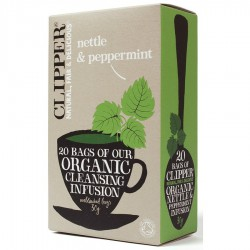 Zeliščni čaj Clipper Nettle & Peppermint