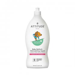 Detergent za otroške stekleničke Attitude - 700 ml
