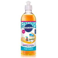 Detergent za pomivanje posode Ecozone (pomaranča in kokos)