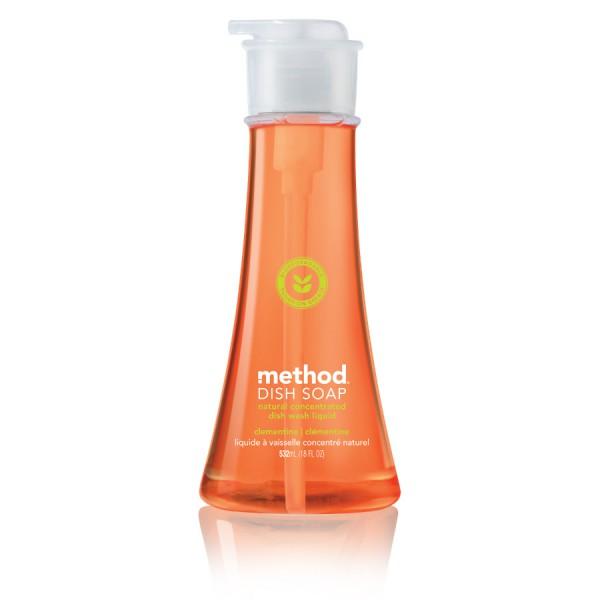 Detergent za pomivanje posode Method (klementina)