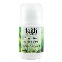 Naravni deodorant Faith in Nature (zeleni čaj in aloe vera)