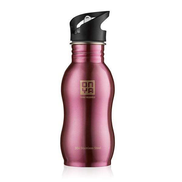 Flaška iz nerjavečega jekla Onya (pink)
