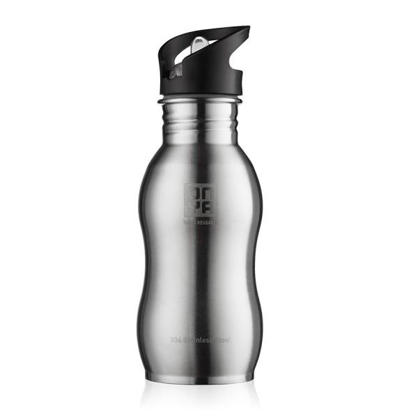Flaška iz nerjavečega jekla Onya (srebrna)