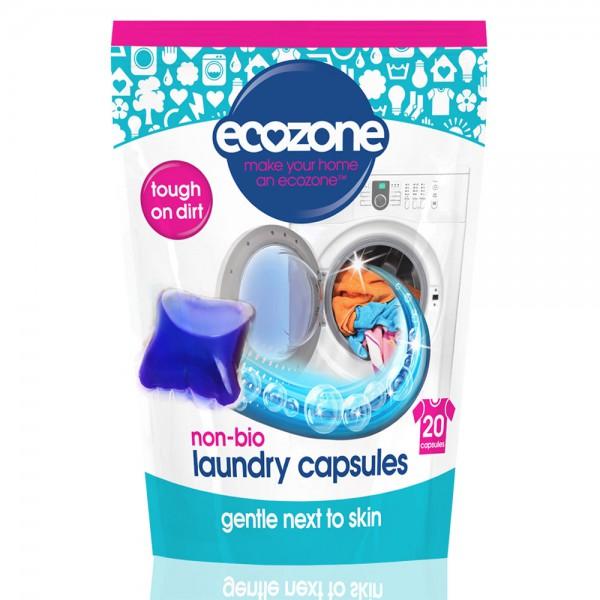 Kapsule za pranje perila Ecozone Non-bio (20 kapsul)
