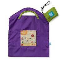 Majhna nakupovalna vrečka Onya Purple Garden