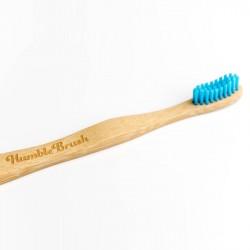 Naravna zobna ščetka Humble Brush (medium, modra)