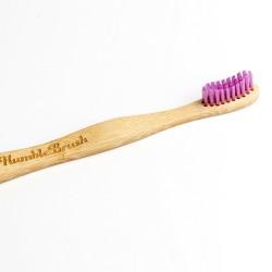 Naravna zobna ščetka Humble Brush (medium, roza)