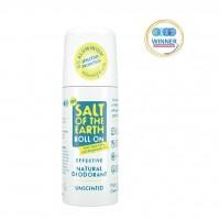 Naravni deodorant roll-on Salt of the Earth (brez vonja)