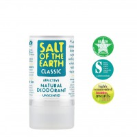 Naravni deodorant v kristalu Salt of the Earth - 90 g (brez vonja)