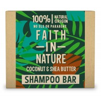 Naravni trdi šampon Faith in Nature (kokos in karitejevo maslo)