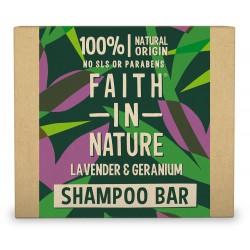 Naravni trdi šampon Faith in Nature (sivka in geranija)