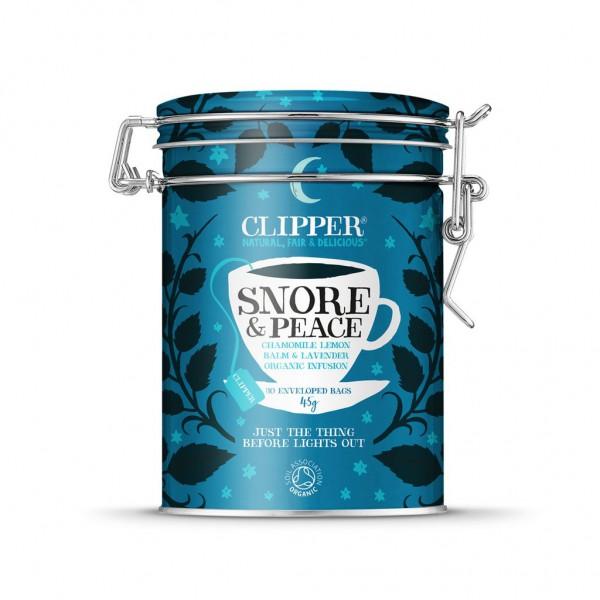 Paket čajev Clipper Snore & Peace (30 vrečk)