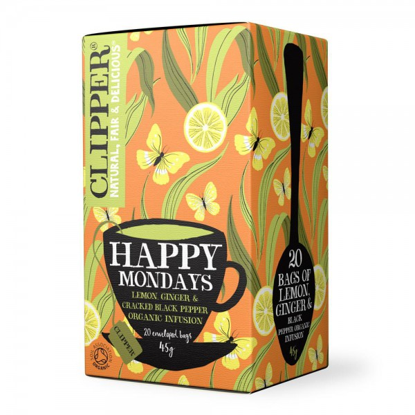 Sadni čaj Clipper Happy Mondays
