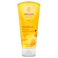 Otroški šampon in gel za tuširanje Weleda (ognjič)