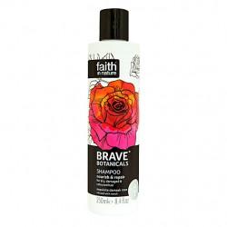 Šampon za obnovitev las Brave Botanicals (vrtnica)