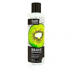 Šampon za lase Brave Botanicals (kivi in limeta)