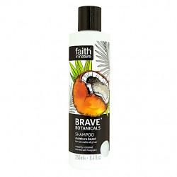 Šampon za suhe lase Brave Botanicals (kokos in mandelj)