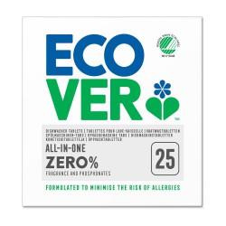 Tablete za pomivalni stroj Ecover Zero Dish (25 tablet)