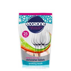 Tablete za pomivalni stroj Ecozone Brilliance (25 tablet)