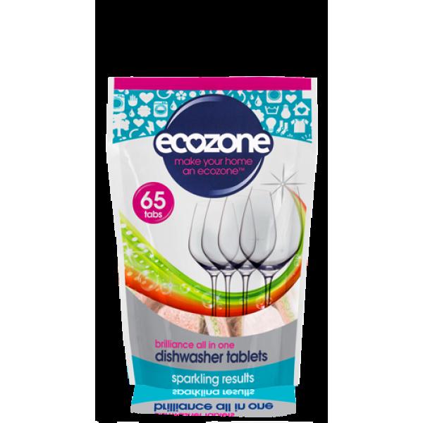 Tablete za pomivalni stroj Ecozone Brilliance (65 tablet)