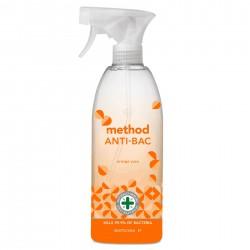 Večnamensko antibakterijsko čistilo Method (orange yuzu)