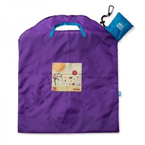 Velika nakupovalna vrečka Onya Purple Garden