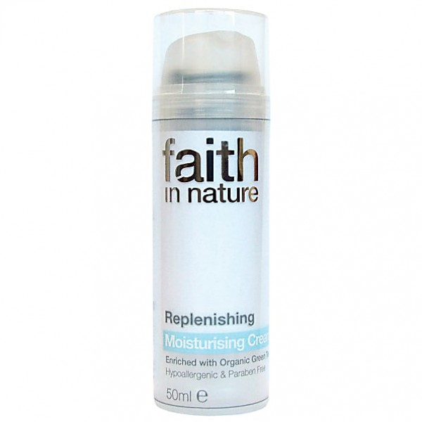 Vlažilna krema za obraz Faith in Nature