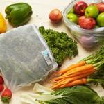 Vrečke za shranjevanje sadja in zelenjave Onya (turkizne) - 5 kosov