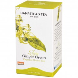 Zeleni čaj Hampstead Tea Zesty Ginger Green